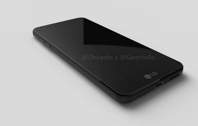 Смартфон LG G6 получит дисплей диагональю 5,7 дюйма разрешением QHD+ с соотношением сторон 18:9