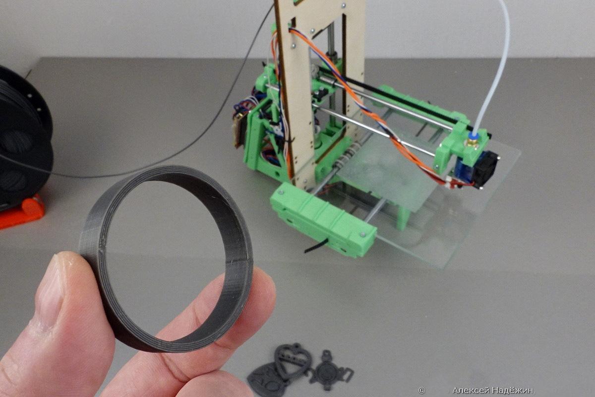 Модульный 3D-принтер «3D-Старт» как источник интереса 3D-кошки - 15