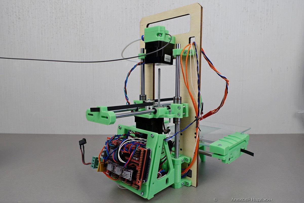Модульный 3D-принтер «3D-Старт» как источник интереса 3D-кошки - 7