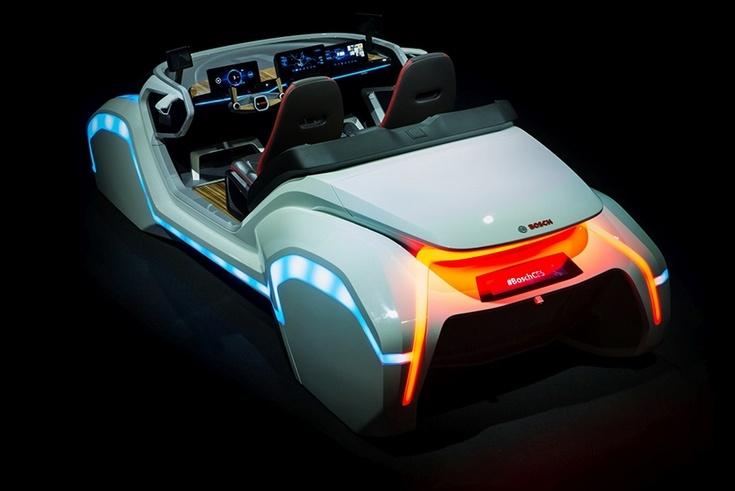 На CES 2017 компания Bosch представила свой концепт-кар