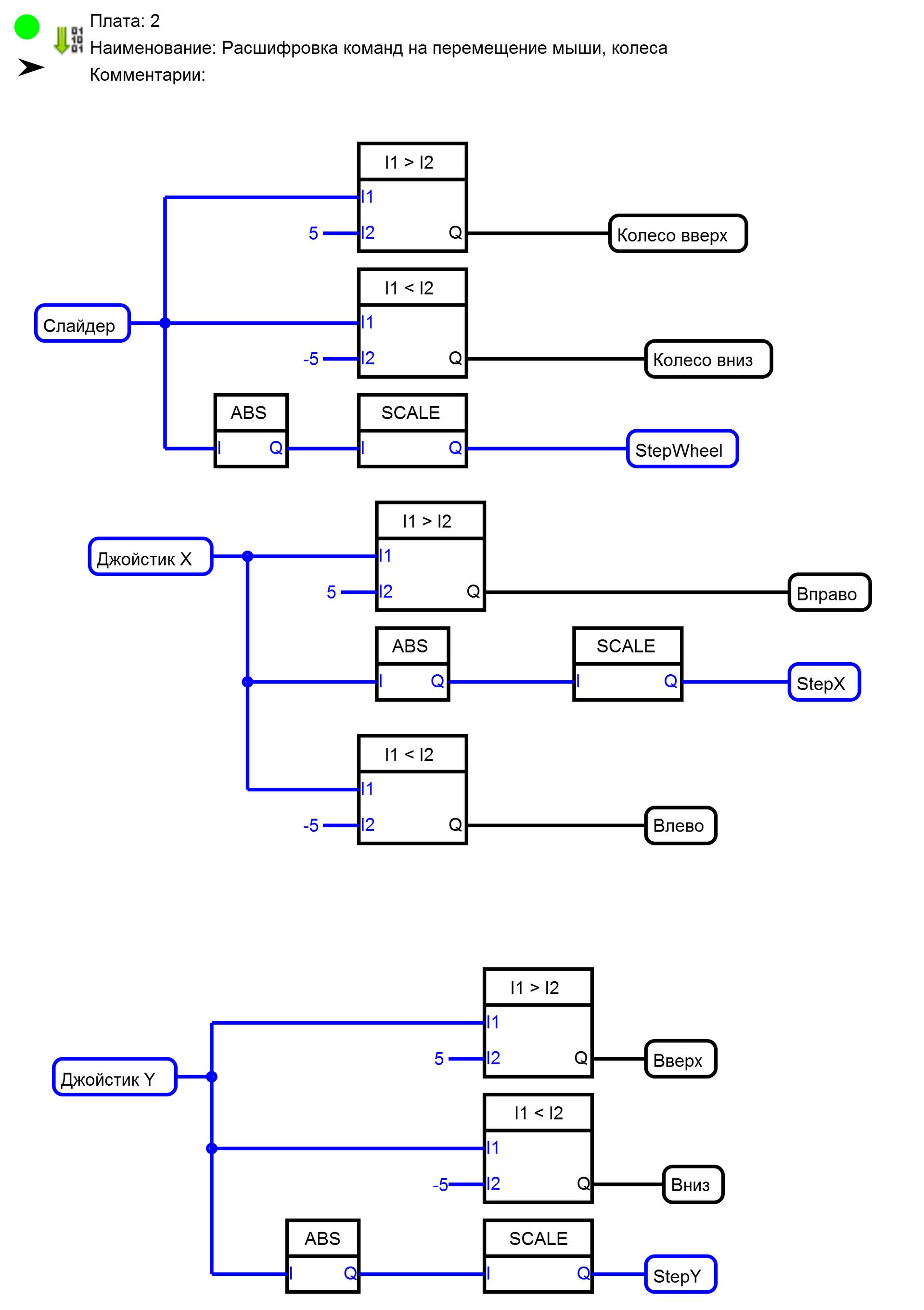 FLProg + RemoteXY=Беспроводная клавиатура для компьютера на Вашем телефоне - 8