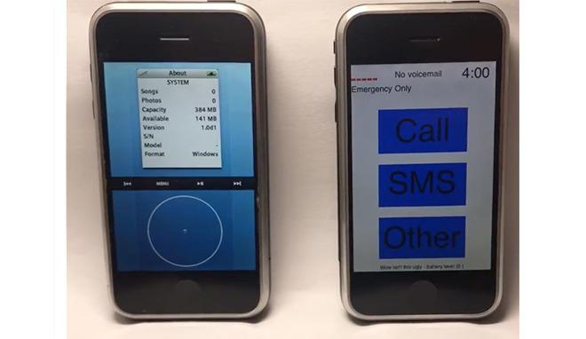 Первый iPhone мог получить совершенно иной интерфейс