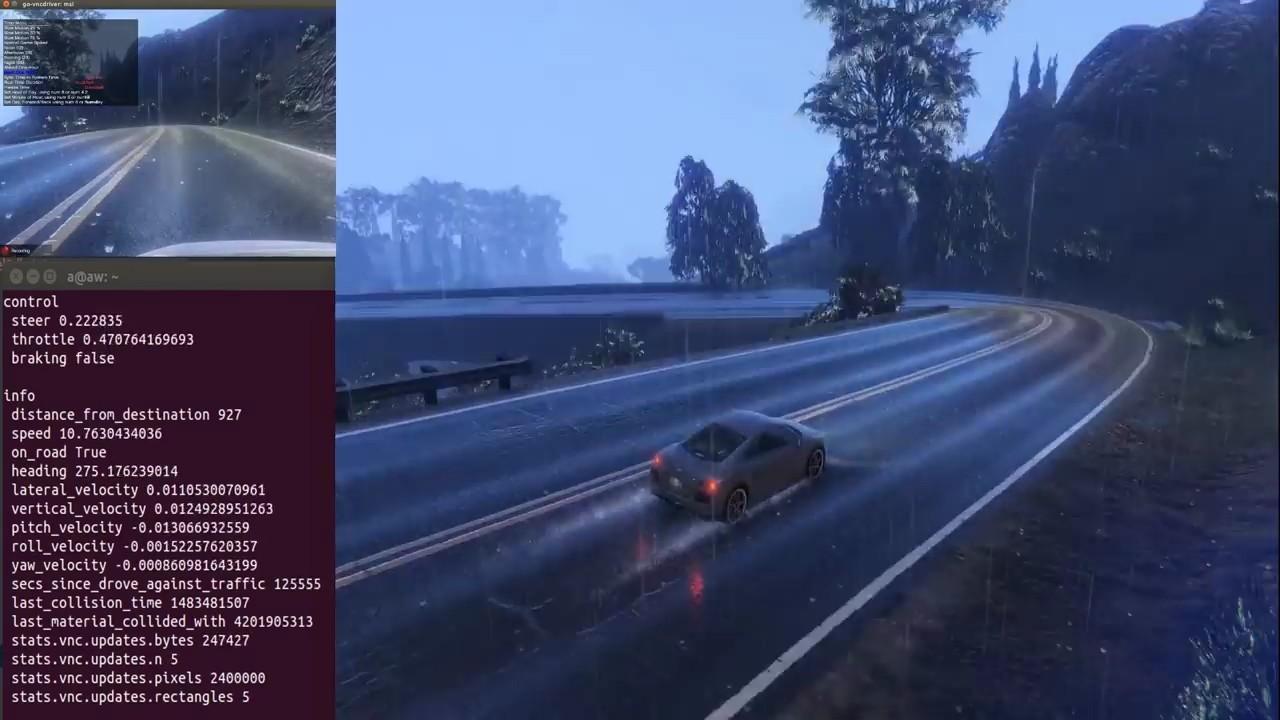 GTA V подключили к платформе OpenAI Universe для обучения ИИ автопилота - 4