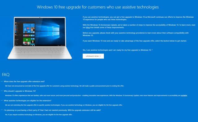 Бесплатное обновление до Windows 10 все еще возможно, ограничение по времени — рекламный ход - 2
