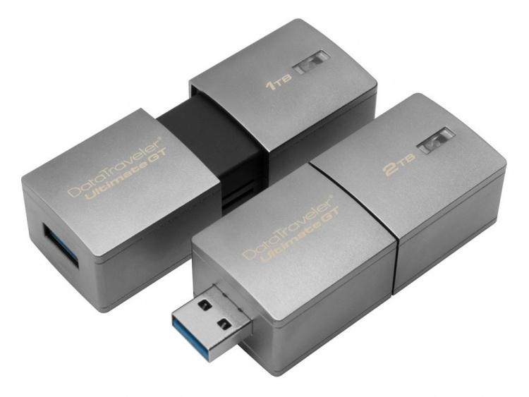 Компания Kingston анонсировала первую в мире USB флешку на 2 ТБ - 2