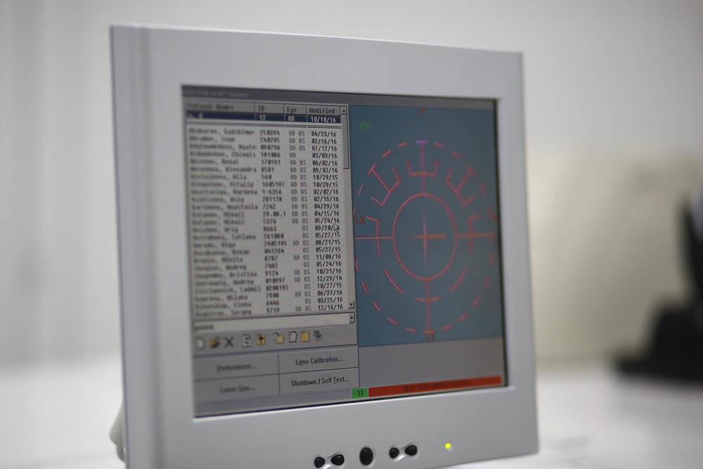 Оборудование операционной для коррекции зрения - 40