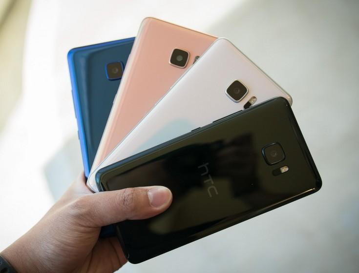 Смартфон HTC U Ultra выглядит оригинально