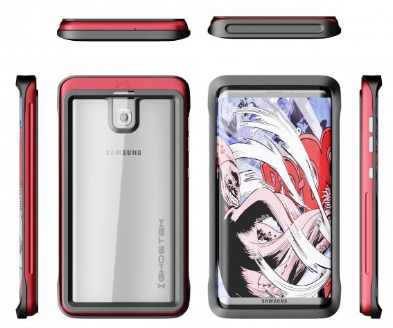 Новые изображения смартфона Galaxy S8 демонстрируют отсутствие кнопки под экраном