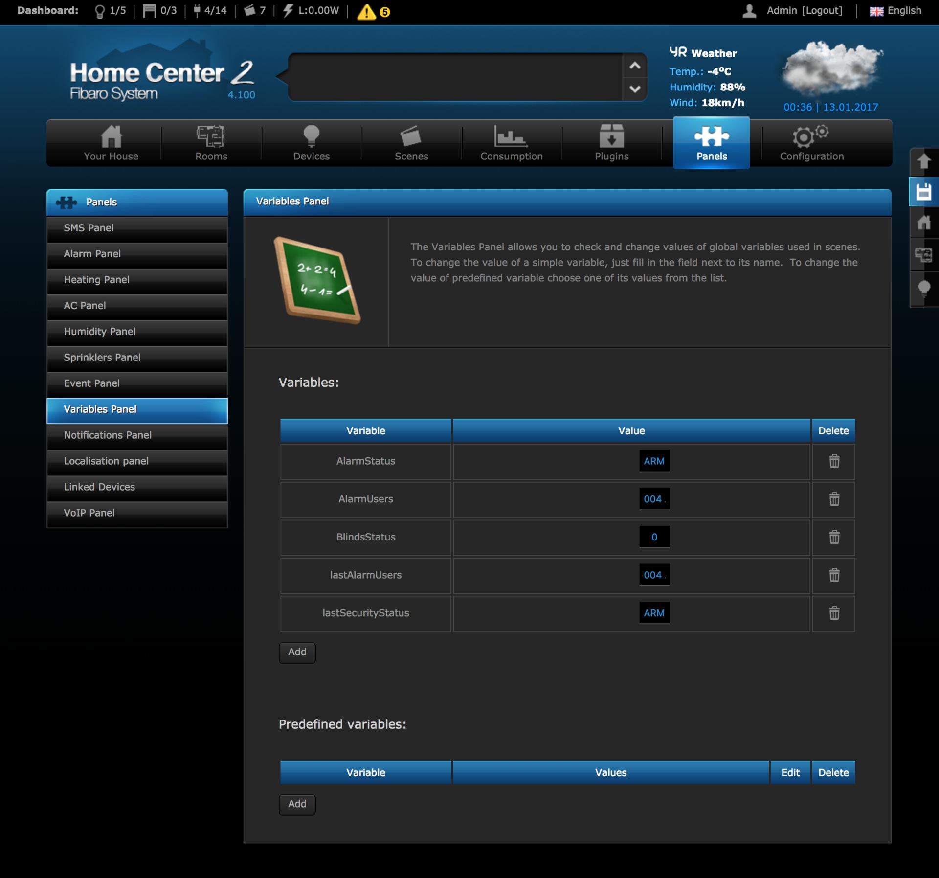 Интегрируем охранную систему Honeywell (Ademco) VISTA 10 с домашней автоматизацией Fibaro - 12