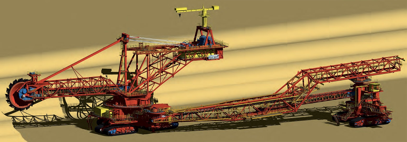 Мегаконструкции. Крупнейший в мире экскаватор Bagger 293 - 2