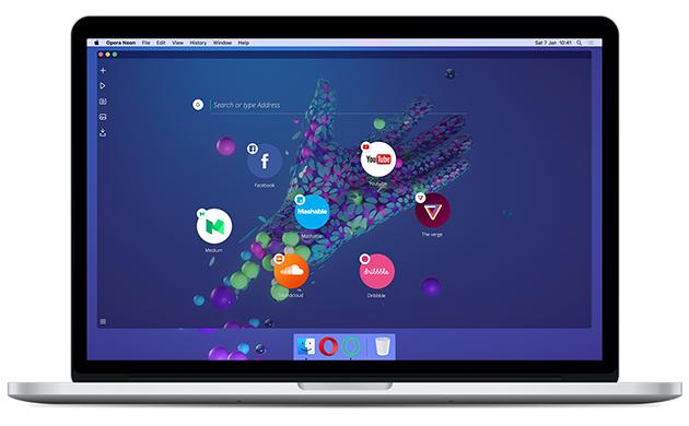 Представлен концепт-браузер Opera Neon