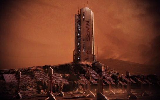 Уфологи доказали, что на Марсе есть дом и космический корабль
