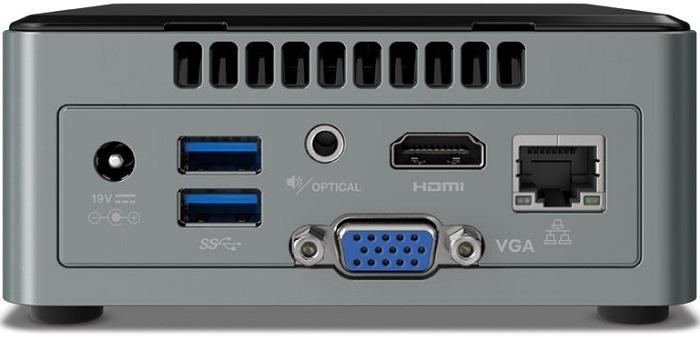 Мини-ПК Intel NUC6CAYS не требует покупки дополнительных компонентов