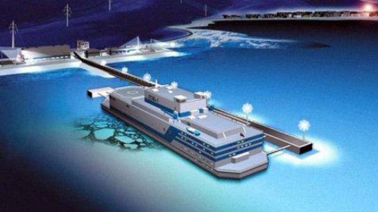В Арктике появилась первая плавающая атомная электростанция