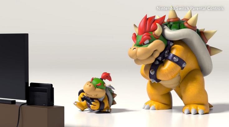 Родители смогут ограничивать игры ребёнка на приставке Switch