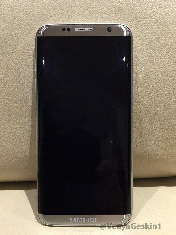 Опубликована еще одна реальная фотография смартфона Samsung Galaxy S8 - 1
