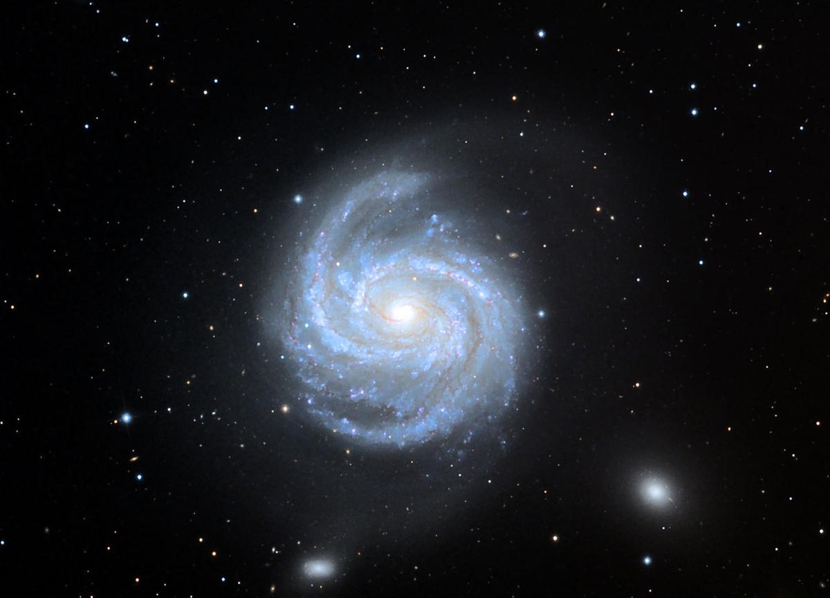 Спросите Итана: почему спиральные галактики так слабо закручены? - 2