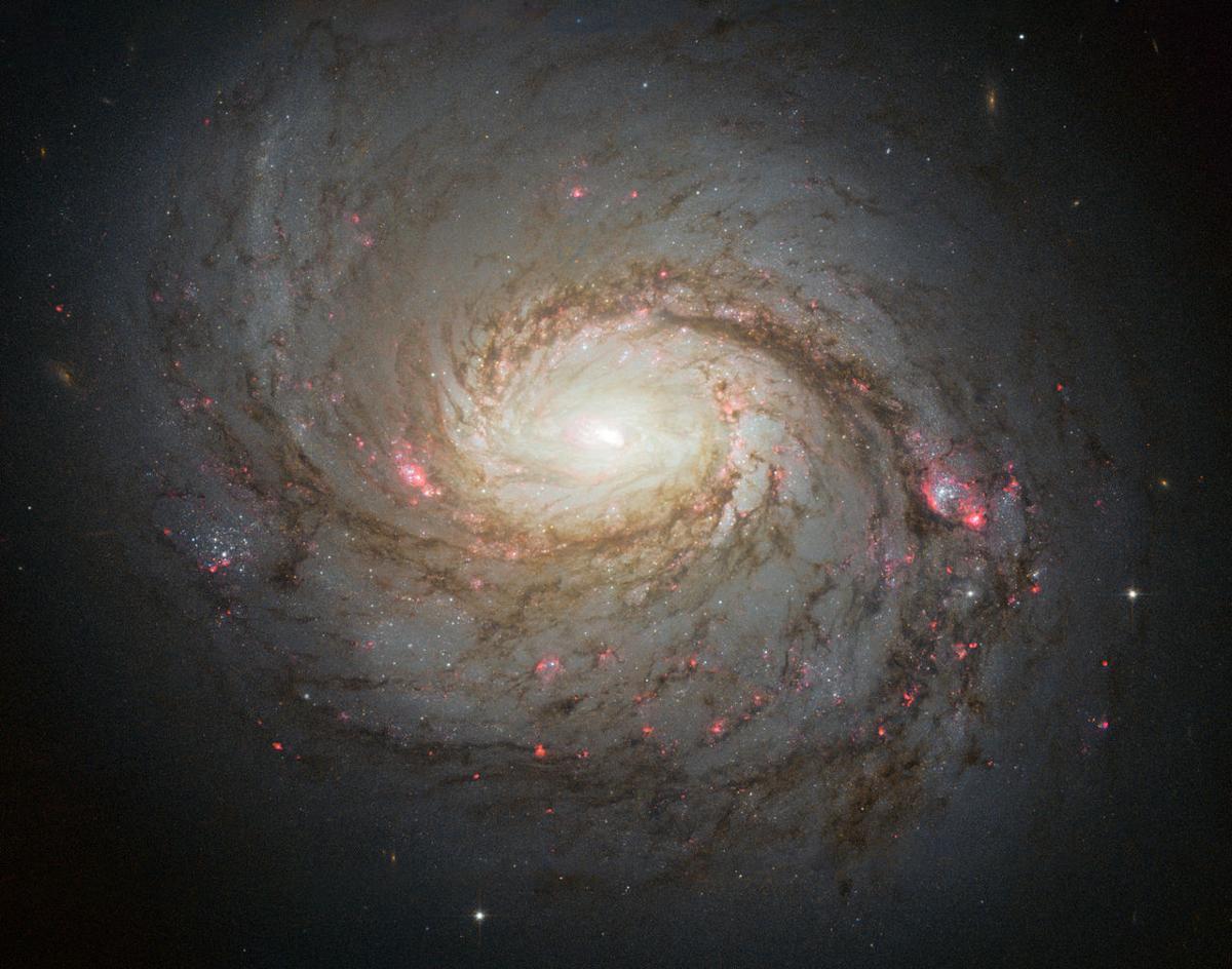 Спросите Итана: почему спиральные галактики так слабо закручены? - 5