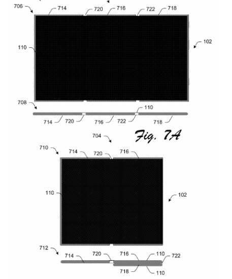 Microsoft запатентовала смартфон со сгибающимся дисплеем
