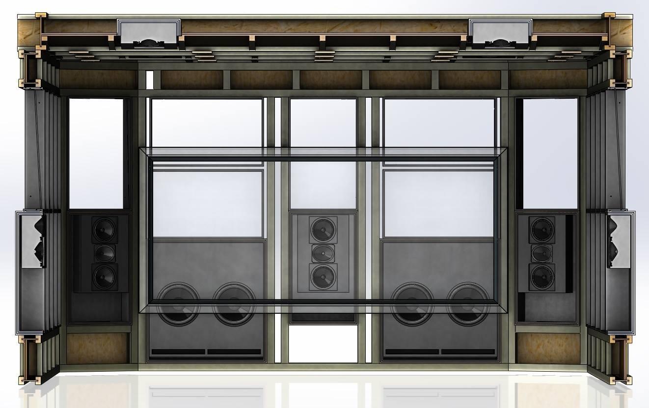 Домашние кинотеатры: Почему мы решили построить два кинозала в шоуруме Аудиомании - 2