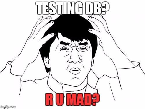 Тестирование с базой данных в .NET - 1