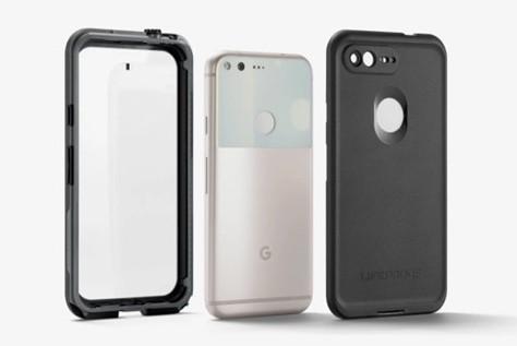 Google начала продажи водонепроницаемых  чехлов для смартфонов Pixel и Pixel XL