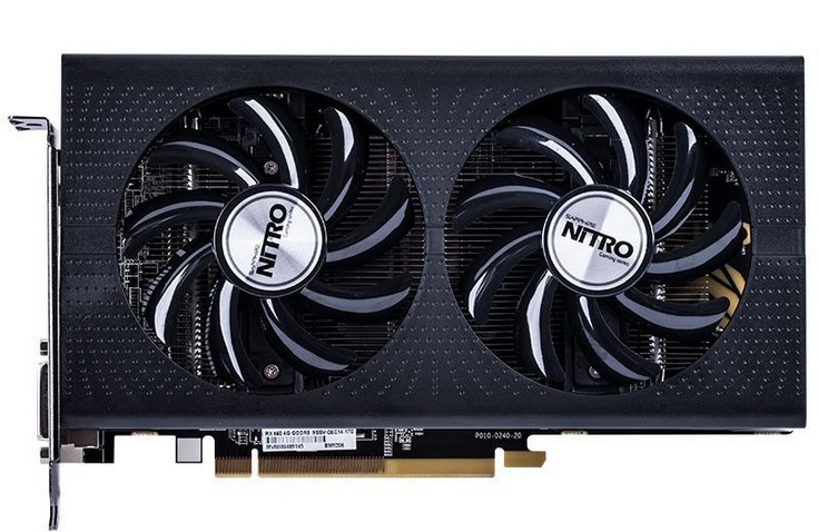 Новая видеокарта Sapphire Nitro Radeon RX 460 OC имеет все 1024 активных потоковых процессора