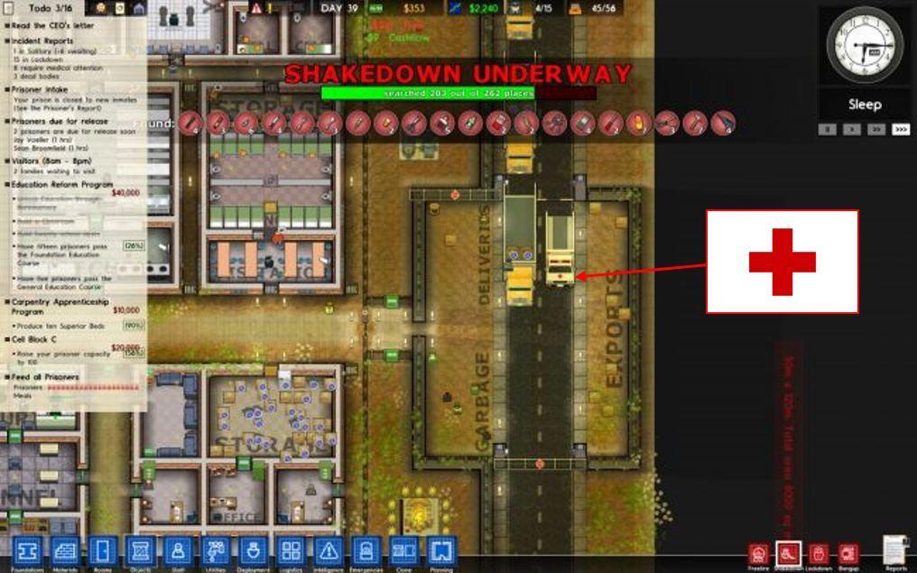 Неожиданная реакция: «Красный крест» требует убрать свою символику из игры Prison Architect - 1