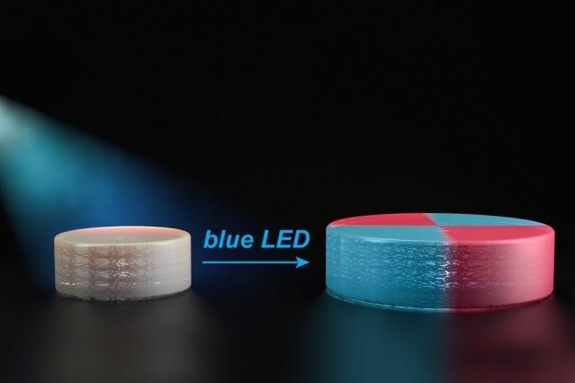 Ученые MIT создали технологию, которая позволяет напечатанным на 3D-принтере предметам менять форму и цвет