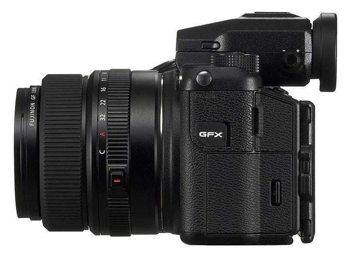 Камера Fujifilm GFX 50S будет выпущена в феврале по цене 450 тыс. руб.