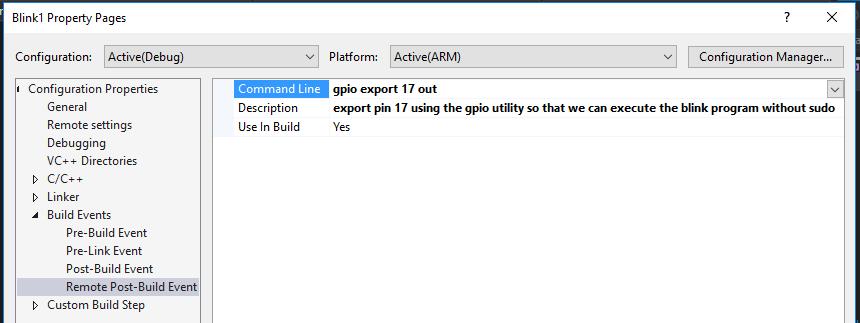 Расширение Visual C++ for Linux Development - 11