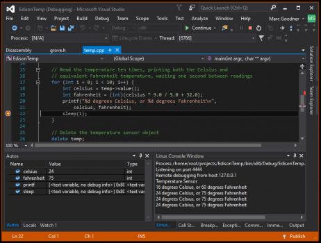 Расширение Visual C++ for Linux Development - 14