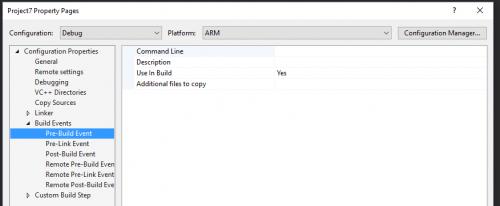 Расширение Visual C++ for Linux Development - 21