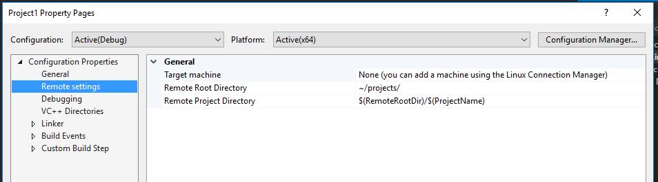 Расширение Visual C++ for Linux Development - 6