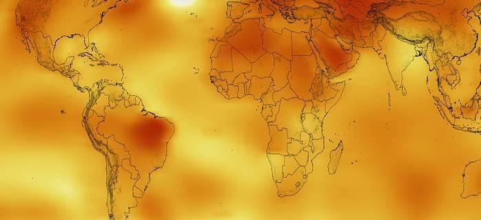 2016 год стал самым жарким за всю историю ведения наблюдений
