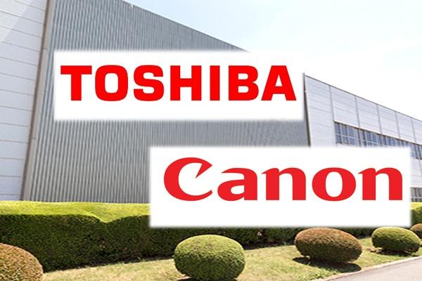 Canon может вложить деньги в Toshiba