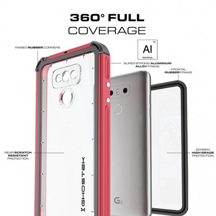 Производитель чехлов Ghostek опубликовал изображения смартфона LG G6