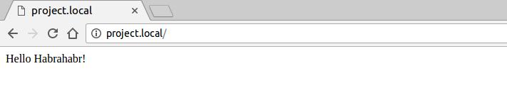Установка и базовая настройка nginx и php-fpm для разработки проектов локально в Ubuntu 16.04 - 9