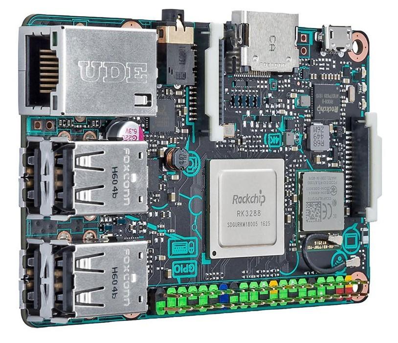Asus Tinker Board: ещё один конкурент RPi - 2