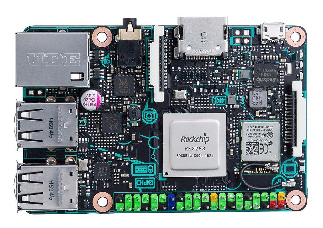 Asus Tinker Board: ещё один конкурент RPi - 1