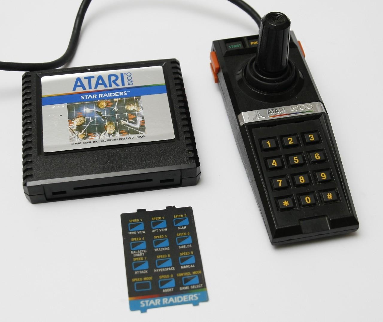 История и обзор Atari 5200 - 5