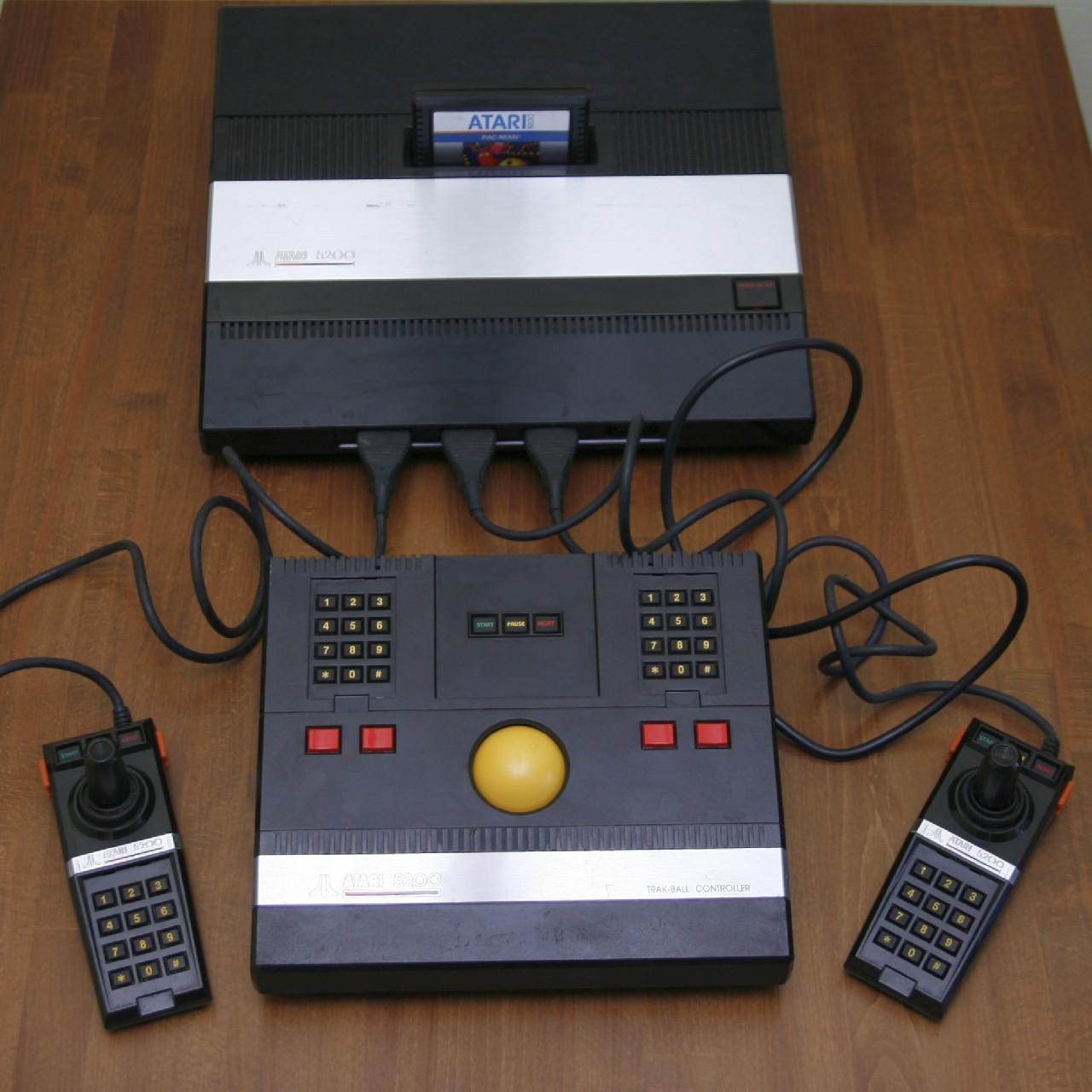 История и обзор Atari 5200 - 6