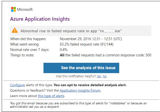Application Insights. Про аналитику и другие новые инструменты - 7