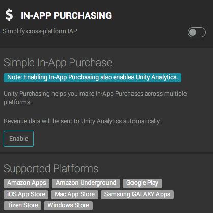 IAP в Unity3D - 2