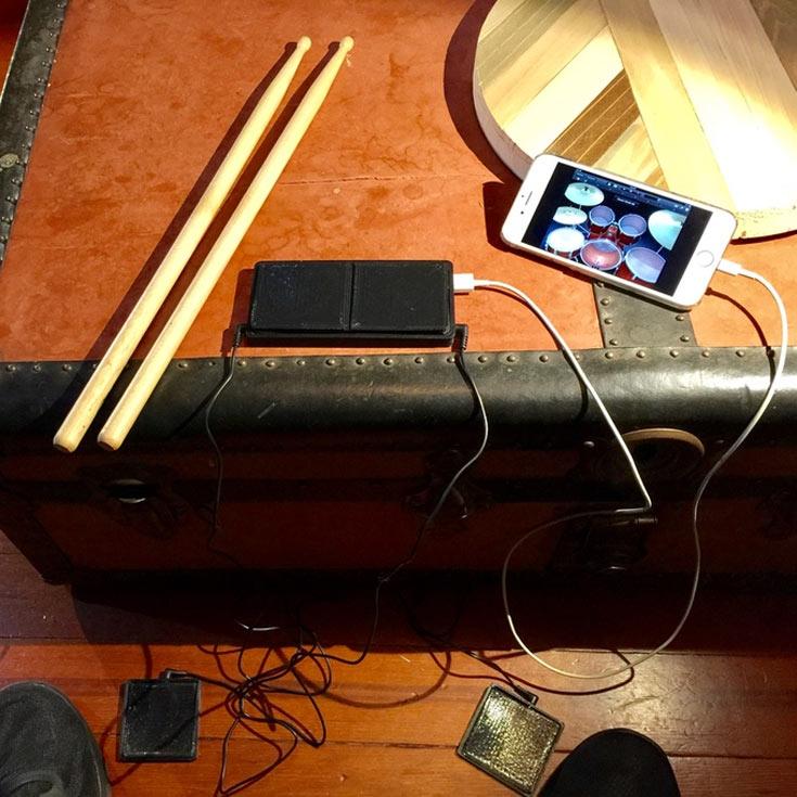 Mammoth Sound MDK — карманная барабанная установка