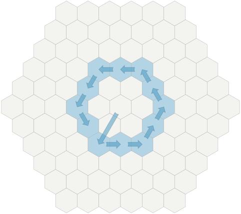 Создание сеток шестиугольников - 40