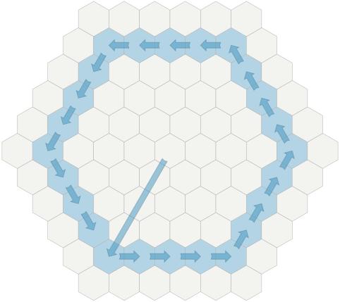 Создание сеток шестиугольников - 41