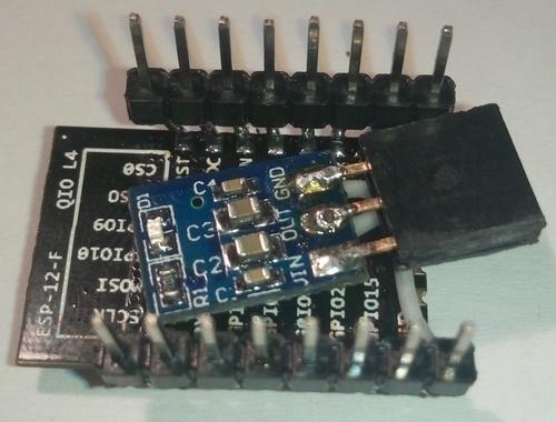 Варианты подключения ESP826 ESP-12. Экзотика - 10