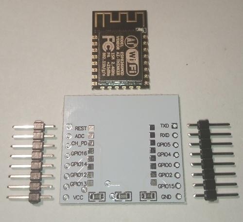 Варианты подключения ESP826 ESP-12. Экзотика - 3