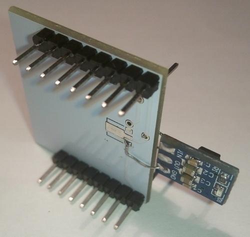 Варианты подключения ESP826 ESP-12. Экзотика - 4